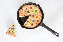 ciasto M&M's wielkie ciasteczko z patelni PRZEPIS