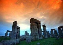 Stonehenge Zachód Słońca
