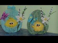 Wielkanocna dekoracja- jaje...