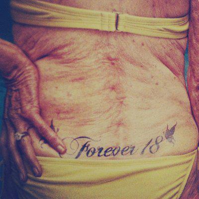 Szacunek Dla Tej Pani Na Tatuaże Piercing 3 Zszywkapl