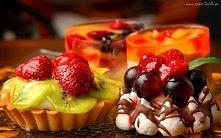 Deser, Owoce, Babeczki, Galaretka mniamniuśne