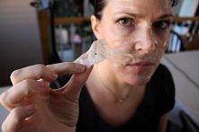 maska z żelatyny oczyszczaj...