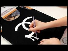 DIY: Chanel logo t-shirt