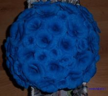 Niebieskie róże ;)