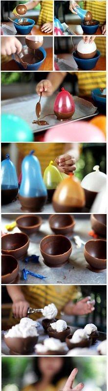 mw. czekoladowe miseczki
