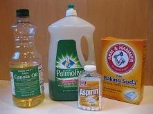 ROSE SPRAY-zapobiega chorobom takim jak rdza, mączniak, czarne plamy.  Zmieszać razem: • 1-łyżeczka sody • 1 łyżeczka łagodnego detergentu do mycia naczyń • 1 łyżka oleju roślin...
