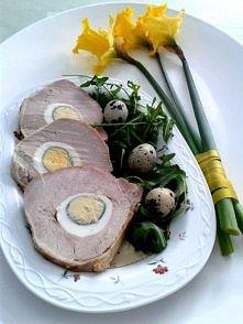 schab z jajkiem