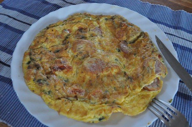 omlet idealny na śniadanie :)