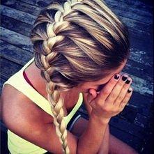 śliczna fryzura ;o