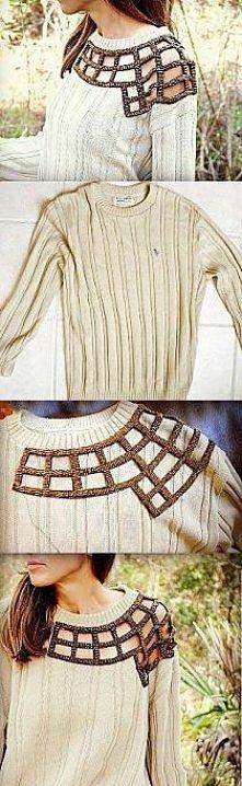 Sposób na stary sweter