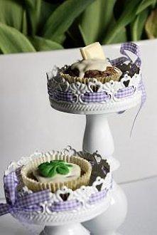 Muffinki czekoladowe z okaz...