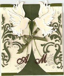 DIY wyjątkowe kartki ślubne...