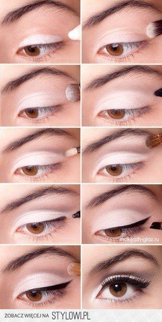 Rozświetlający Makijaż Oka Na Oczy Zszywkapl