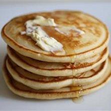 oryginalna receptura na 8 puszystych pancakes 3/4 szklanki mleka, 2 łyżki oct...