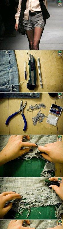 diy, diy projects, diy craft, handmade, diy ideas, diy denim skirt