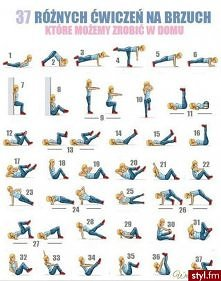 37 ćwiczeń na brzuch