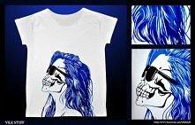 T-shirt ręcznie malowany!