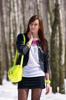 neon cambridge bag