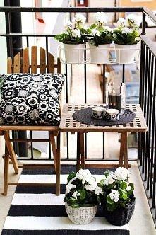 balkon mini ogród