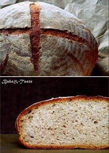 Pszenny chleb na żytnim zak...