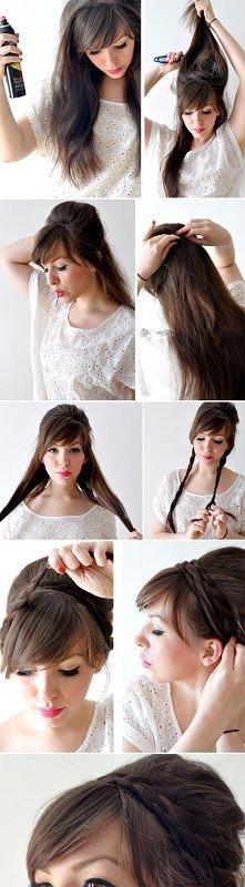 fashion, diy fashion projects, diy fashion ideas, diy fashion tips, diy style braided updo hairstyle