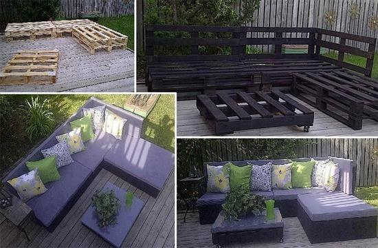 meble ogrodowe z palet :)