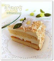 Tort wiosenny (przepis po kliknięciu w zdjęcie).