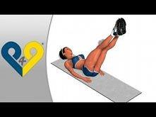 Ćwiczenia płaski brzuch, jak zrzucić brzuch, twardy ABS - Floor Wiper