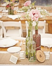 Kompozycje kwiatowe na stół...