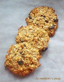 Zdrowe ciasteczka owsiane z...