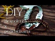 DIY: Bransoletka z podkładek
