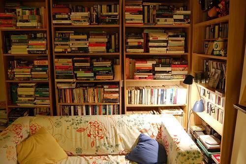 tak, kocham czytać.
