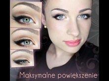 Makijaż - Jak powiększyć maksymalnie swoje oko!