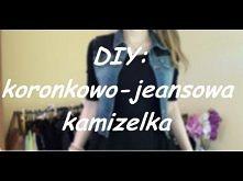 DIY: koronkowo-jeansowa kamizelka + stylizacje :)