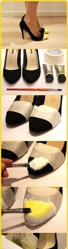 Pomysłowo :) Od razu buty nabierają charyzmy :D