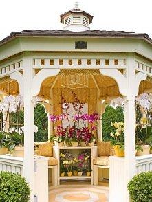 Victorian style patio