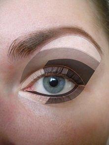 jak pomalować oko, żeby wydawało się większe.