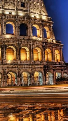 The Colosseum, Rome, Italy....