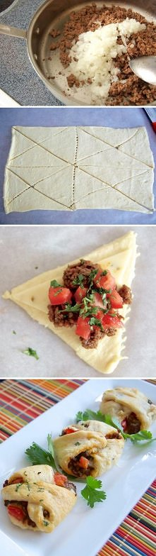 recipes with pictures, recipes in pictures, recipes pictures, pictures and recipes, pictures of recipes, taco pockets recipe