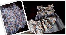 diy- Jak z za małej sukienki zrobić spódniczkę i nową sukienkę w 10 minut.