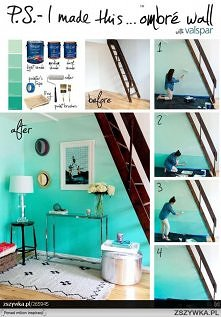 Ombre wall <3