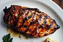 Kurczak w sosie  składniki na sos: - Francuska musztarda - ½ szklanki (100 g)...