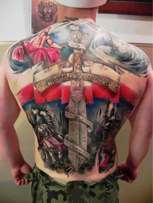 Bóg Honor Ojczyzna Na Tatuaże Zszywkapl
