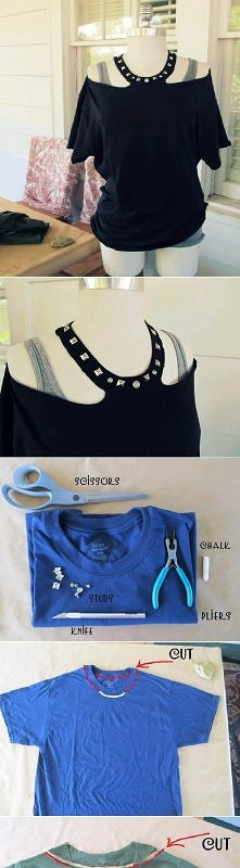 Diy,T-shirt hand-made
