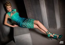 mega suknia, a jaki boski kolor!