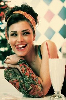 tatoo lady