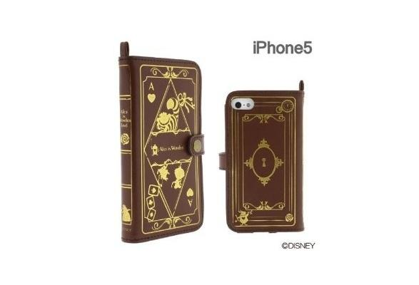 Old Book Case Iphone Disney : Disney character old book case for iphone alice in