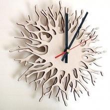 Coral Branch Clock by Asymmetree