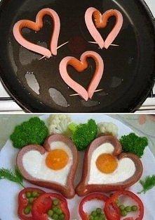 śniadanko dla zakochanych <3