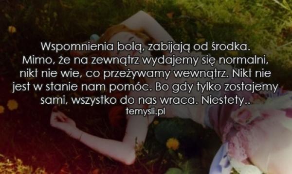 wspomnienia cytaty Wspomnienia na Cytaty ♥   Zszywka.pl wspomnienia cytaty